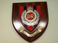 Royal Engineers wall shield