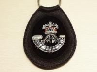 The Rifles leather key ring