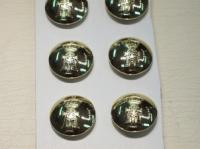 Yorkshire Regiment small anodised button