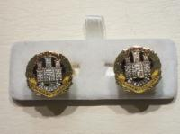Northamptonshire Regiment cufflinks