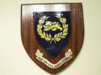 King's Own Royal Border Regiment Wall shield
