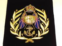 Royal Marines Colour Sgt insignia arm patch