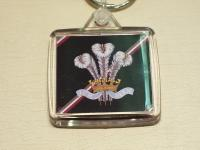 Royal Regiment of Wales key ring