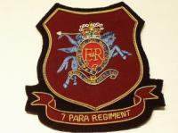 7 Para Regt RHA Blazer Badge