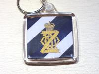 13th/18th Hussars key ring
