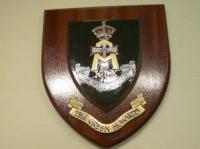 Green Howards wall shield