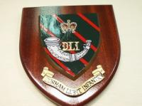 Durham Light Infantry wall shield