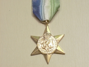 Atlantic Star full size copy medal eek - Click Image to Close