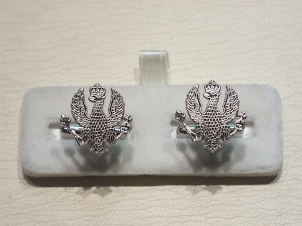 14th/20th Hussars cufflinks - Click Image to Close