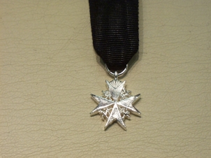 Serving Brother of St John miniature medal - Click Image to Close