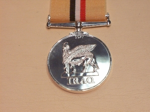 Iraq full size copy medal (superior striking) - Click Image to Close