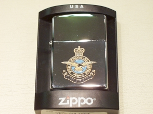 Zippo RAF lighter - Click Image to Close