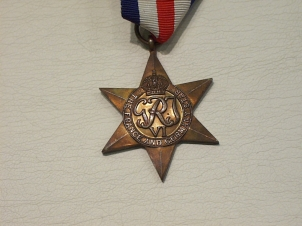 France & Germany star original full size medal - Click Image to Close