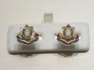 East Yorkshire Regiment cufflinks - Click Image to Close