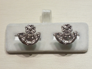 Light Infantry cufflink - Click Image to Close