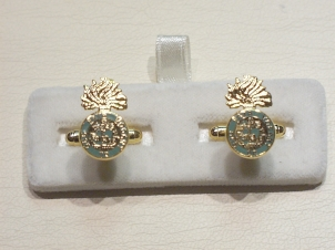 Northumberland Fusiliers cufflinks - Click Image to Close
